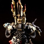 Black Templars High Chaplain Grimaldus - Painted backpack