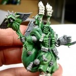 Dark Angels Interrogator Chaplain - Green