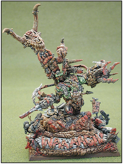 Ork Warboss: 2001 Baltimore Gamesday 3rd place - 40k Monster Category