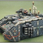 Black Templar Landraider: 2001 Baltimore Gamesday 1st place - 40k Vehicle Category