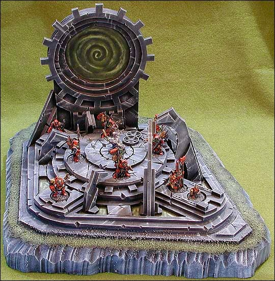 Adeptus Machanicus Teleporter: 2002 Chicago Gamesday 1st place - Open Category
