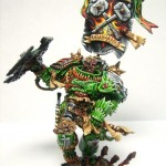 Inquisitor Scale Salamander Space Marine: 2002 Chicago Gamesday 1st place - Large Scale Category
